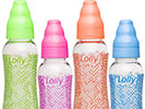 Brazilian infant care company Lolly Baby is producing a line of baby nursing bottles and pacifiers utilizing Eastman Tritan™ copolyester