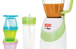 NUK chooses Eastman Tritan™ copolyester for its versatile Smoothie and Baby Food Maker.