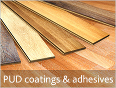 PUD Coatings and Adhesives