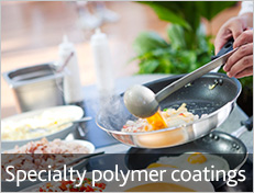 Specialty polymer coatings