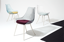 Luxtiera chair made with Eastman Tritan copolyester