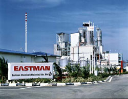 Eastman Chemical Malaysia manufacturing site located in Kuantan, Malaysia.