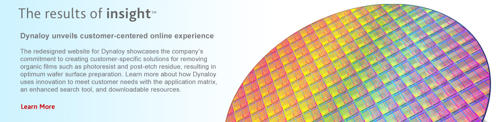 Dynaloy Unveils Customer-Centered Online Experience.