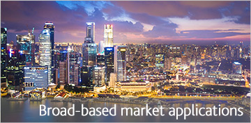 Broad-based market applications