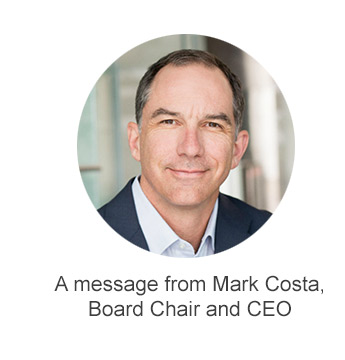 A message from Mark Costa